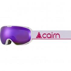 Cairn Magnetik, skibriller, junior, mat hvid lilla