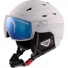 Cairn Maverick Evolight skihjelm med visir, hvid