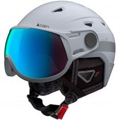 Cairn Shuffle Evolight, skihjelm med visir, hvid