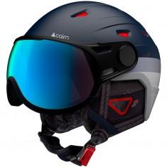 Cairn Shuffle Evolight, skihjelm med visir, mørkeblå