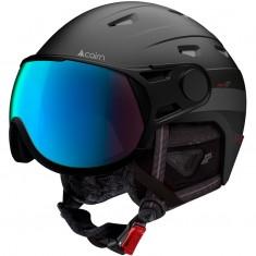Cairn Shuffle Evolight, skihjelm med visir, sort