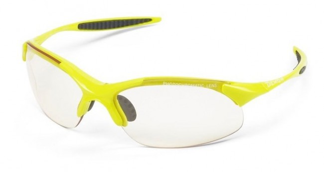 Demon 832 Photochromatic solbrille, neongul/smoke