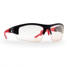 Demon Iron Photochromatic solbriller, sort/rød