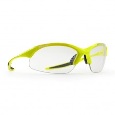 Demon Tour Photochromatic solbriller, neongul