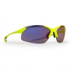 Demon Tour solbriller m. 3 sæt linser/glas, neongul