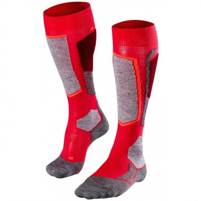 Falke SK2 skistrømper, dame, rød