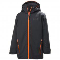 Helly Hansen Blaze, skijakke, junior, mørkegrå