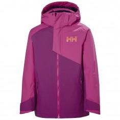 Helly Hansen Cascade skijakke, junior, lilla