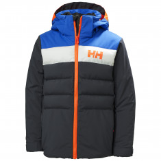 Helly Hansen Cyclone, skijakke, junior, mørkegrå