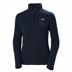 Helly Hansen Daybreaker 1/2 zip Fleece, dame, mørkeblå