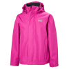 Helly Hansen JR Seven J, regnjakke, junior, sort