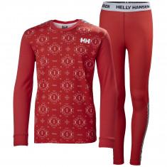 Helly Hansen Lifa Active sæt, junior, rød