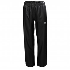 Helly Hansen Moss regnbukser, junior, sort