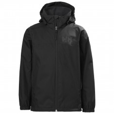 Helly Hansen Urban regnjakke, junior, sort