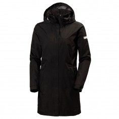 Helly Hansen Aden Long, regnfrakke, dame, sort