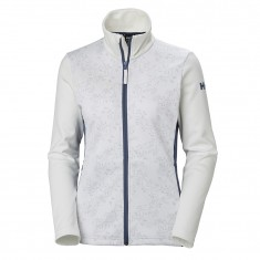Helly Hansen W Graphic fleece jacket, dame, hvid