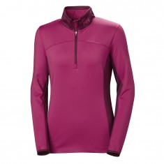Helly Hansen W Phantom 1/2 zip, dame, persian red