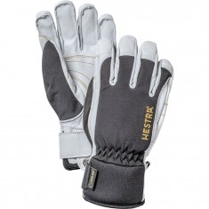 Hestra Army Leather Gore-tex skihandsker, sort/hvid