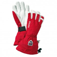 Hestra Army Leather Heli skihandsker, rød