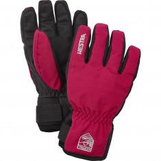 Hestra Ferox Primaloft, skihandsker, junior, pink