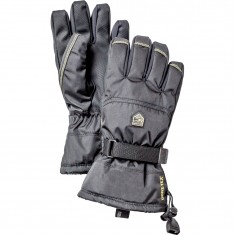 Hestra Gore-Tex Gauntlet skihandsker, junior, sort