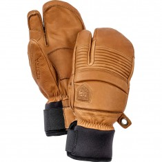 Hestra Leather Fall Line 3-finger skihandsker, kork