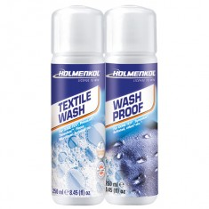 Holmenkol Textile Wash+Wash Proof, 2x250 ml