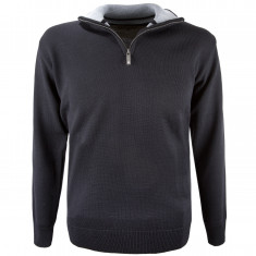 Kama Bjørn Merino Sweater, herre, sort