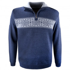 Kama Erik Merino Sweater, herre, navy