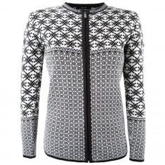 Kama Helga Merino Sweater m. lynlås, dame, sort