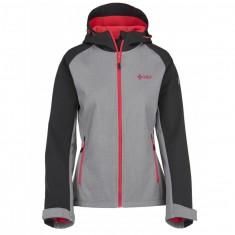 Kilpi Elia, softshell jakke, dame, lysgrå/pink