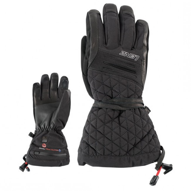 Lenz Heat Gloves 4.0, startersæt, dame, black