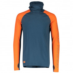 Mons Royale Temple Tech Flex Hood, herre, atlantic orange
