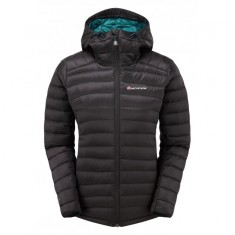 Montane Featherlite Down Jacket, dame, black