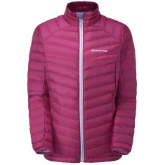 Montane Featherlite Down Micro Jacket, dunjakke, dame, french berry