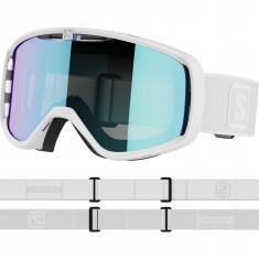 Salomon Aksium, skibriller, hvid/grå