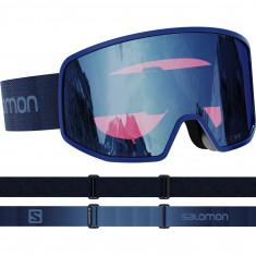 Salomon LO FI Sigma, skibriller, blå