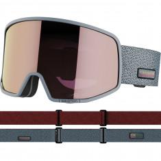 Salomon LO FI Sigma, skibriller, grå/pink