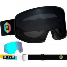 Salomon LO FI, skibriller, sort