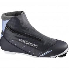 Salomon RC8 Vitane Nocturne Prolink, langrendsstøvler, dame, sort