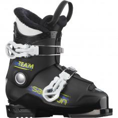 Salomon Team T2, skistøvler, junior, sort/hvid