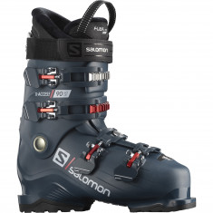 Salomon X Access 90 Wide, skistøvler, herre, blå/rød
