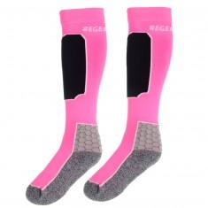 Seger Racer, skistrømper, 2-par, pink