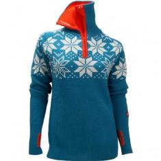 Ulvang Rav Kiby sweater, dame, mosaic blue
