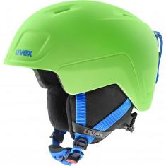 Uvex Heyya Pro, skihjelm, junior, grøn/blå