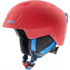 Uvex Heyya Pro, skihjelm, junior, rød