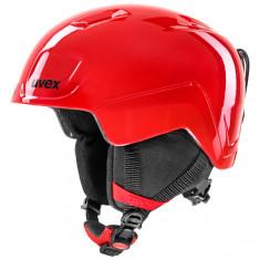 Uvex Heyya, skihjelm, junior, rød