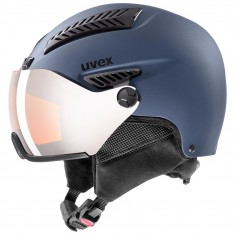 Uvex hlmt 600, skihjelm med visir, blå