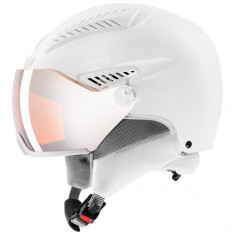 Uvex hlmt 600 skihjelm med visir, hvid