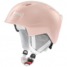 Uvex Manic Pro skihjelm, lyserød
